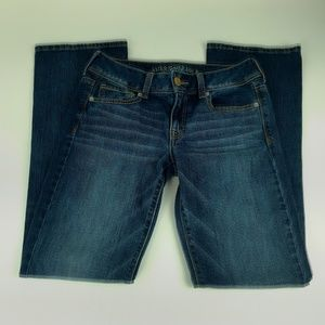 American Eagle Outfitters Jeans Size 6 Kick Boot